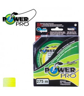 Plecionki Power Pro Hi-Vis Yellow 275m