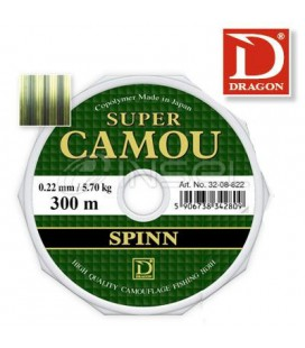 Żyłki Dragon Super Camou Spinn 150m