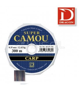 Żyłki Dragon Super Camou Carp 150m