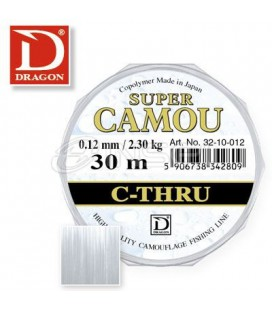 Żyłki Dragon Super Camou Clear 30m