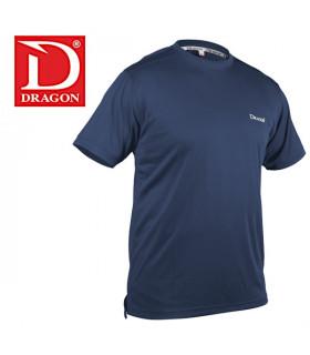 T-Shirty Dragon Climadry niebieskie