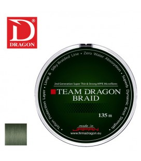 Plecionki Team Dragon Toray szarozielone 135m