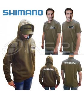 Zestawy bluza, polo, T-Shirt, czapka Shimano oliw.