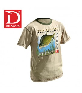 T-Shirty Dragon Leszcz jasne