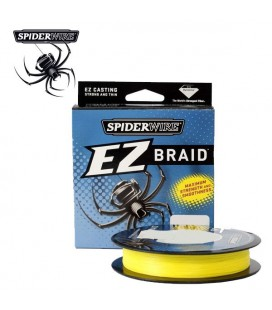Plecionki Spiderwire EZ Braid Yellow 100m