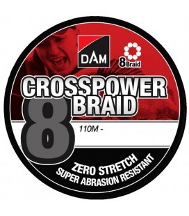 Plecionki DAM Crosspower 8-Braid 110m