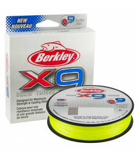 PLECIONKI BERKLEY X9 BRAID FLURO GREEN 150m