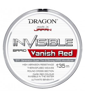 PLECIONKI DRAGON INVISIBLE VANISH RED 135 m