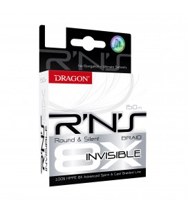 PLECIONKI DRAGON R'N'S 8X INVISIBLE 150m