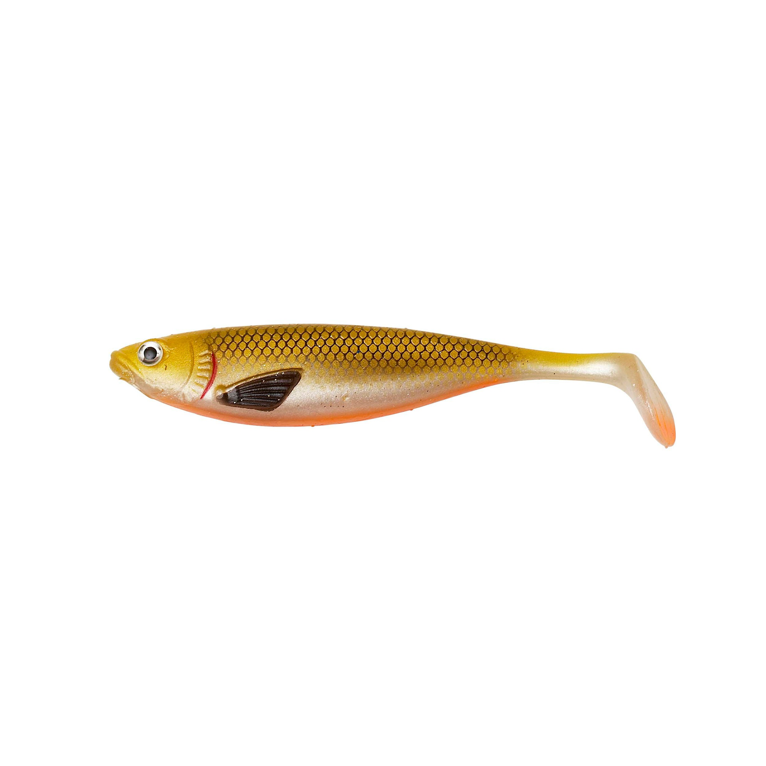 Effzett Strike Shad gold shiner