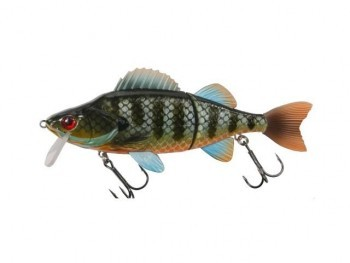 DAM Effzett Slide N Roll Perch bluegill