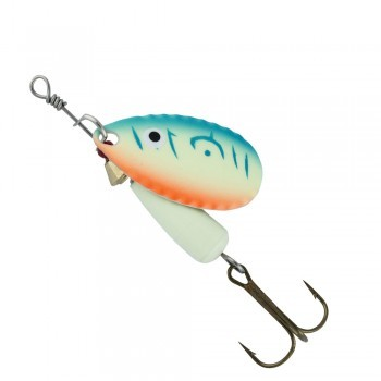 Abu Garcia Droppen UV Glow blue/orange