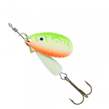 Abu Garcia Droppen UV Glow orange/green