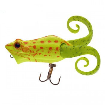 Berkley Frienzy Pop Frog chartreuse