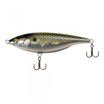 Sebile Stick Shad hollow greenie