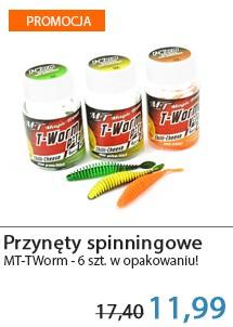 Przynęty M.T. Worm