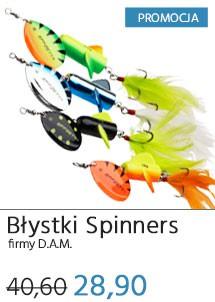 Błystki DAM Spinners