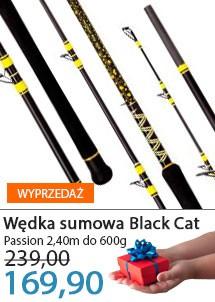 Wędka Black Cat Passion